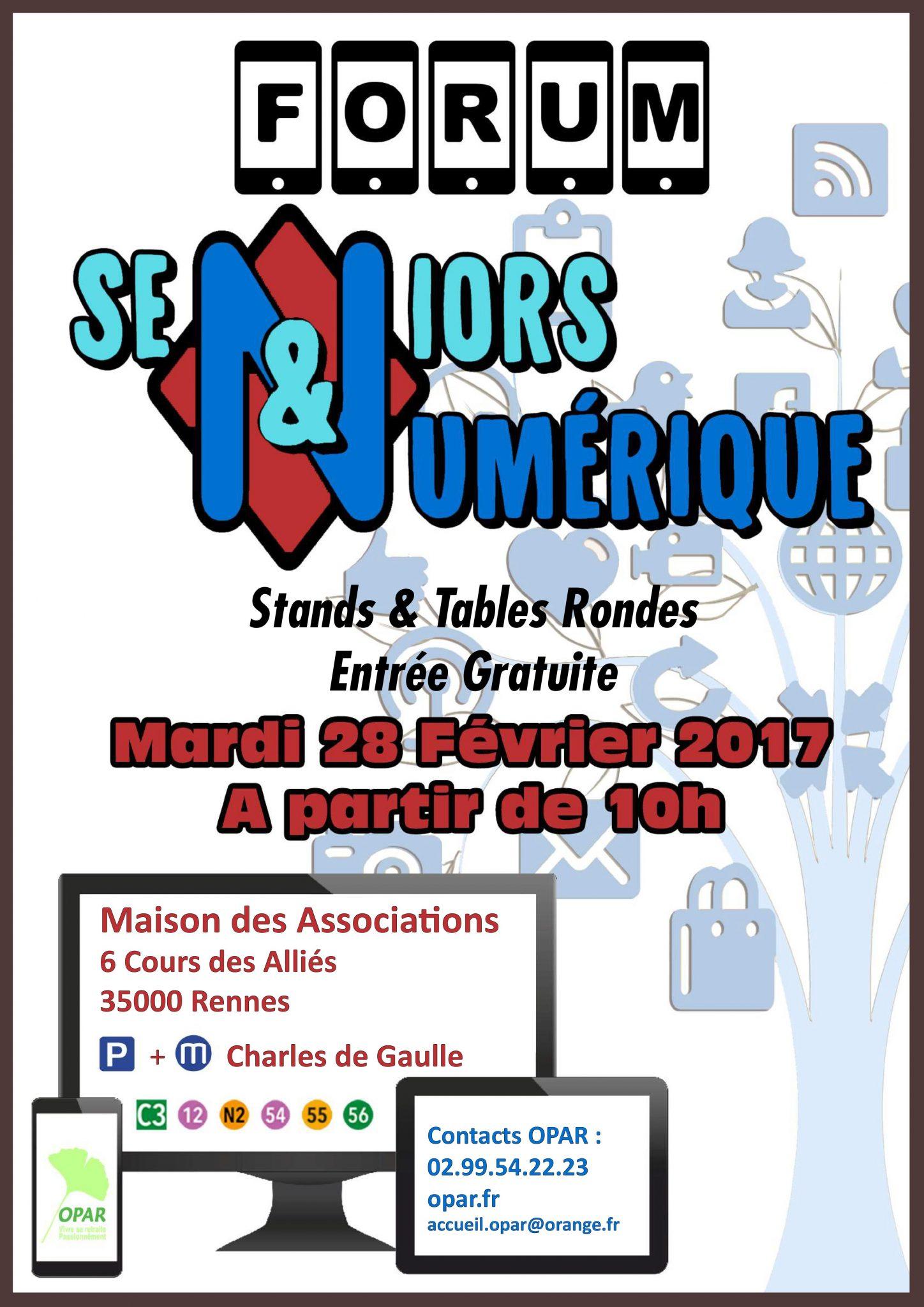 Forum Seniors & Numérique