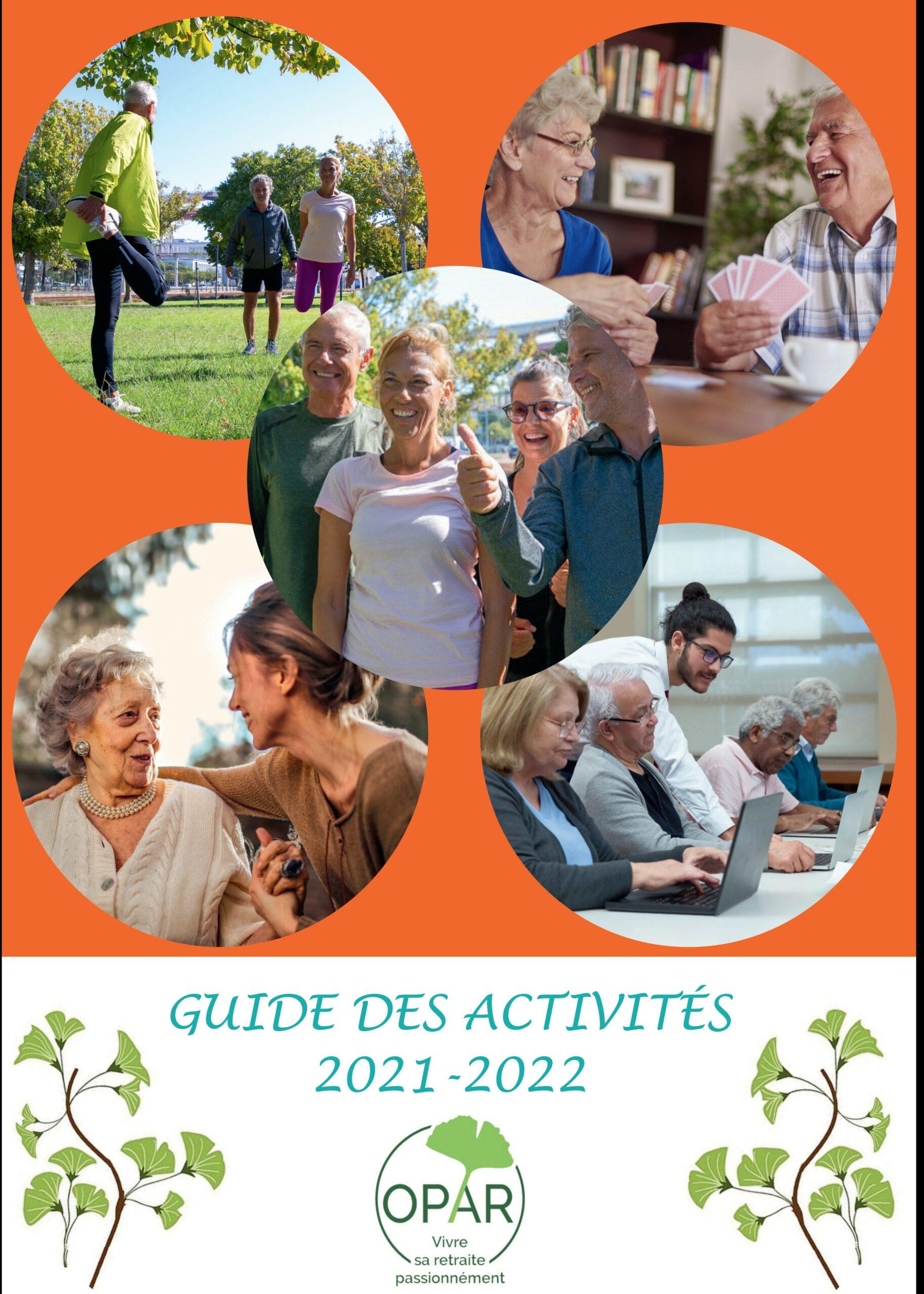 Le guide des activités